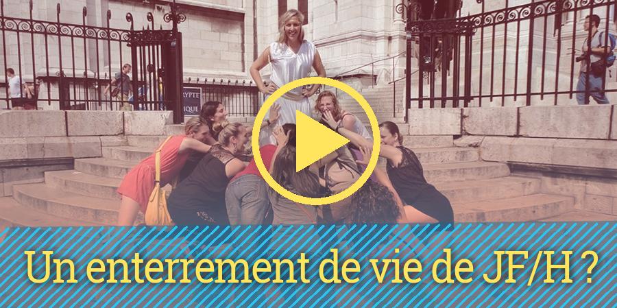 enterrement de vie de jeune fille paris